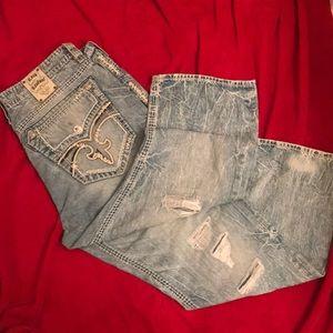 Men's Rock Revival Jeans. Size 44/32